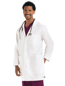 """Picture of Barco Grey's Anatomy™ Classic Men's 37"""" Lab Coat"""